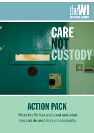 WI Care not Custody:Pack layout 6 - Prison Reform Trust