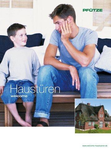 """""""Haustüren"""" der Firma Pfütze als PDF Datei"""