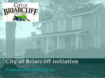 City of Briarcliff Initiative - WordPress.com
