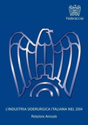 Anno 2004 - Federacciai