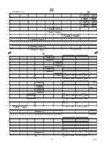 Symphony No. 2: 'Il Ricorso' (Full Score): Part 3
