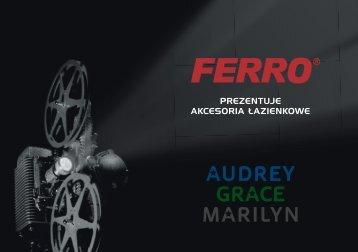Akcesoria Ã…Â'azienkowe Audrey, Grace i Marilyn - Ferro