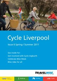Cycle Liverpool - the TravelWise Merseyside website