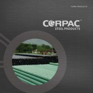 Corpac Product Brochure - Corpac Steel Products