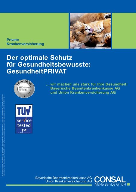 Broschüre (PDF) - WMD Brokerchannel