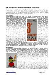 Het Tielse fruitcorso. Een 'levend' monument en ... - MijnGelderland
