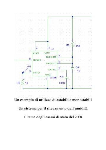 Un esempio di utilizzo di astabili e monostabili - Antoniosantoro.com