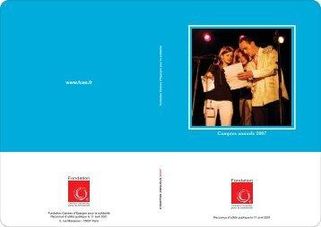 Mise en page 1 - Fondation Caisses d'Epargne pour la solidarité