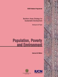 Population, Poverty and Environment Population, Poverty ... - IUCN