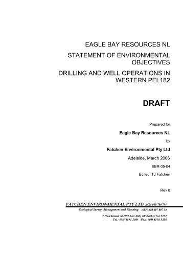 EBR Drilling Draft SEO - MISA