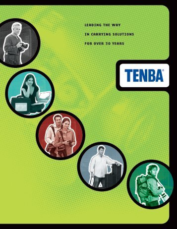 leading the way in carrying solutions for over 30 years - Tenba