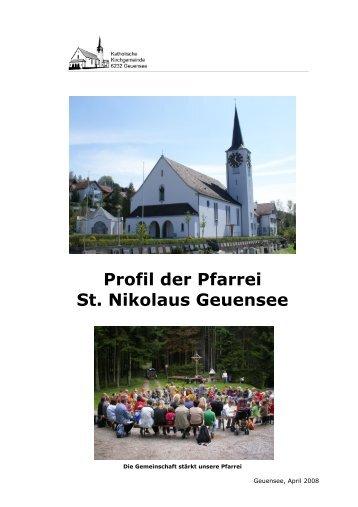 Dokument Pfarreiprofil - Pfarrei-Geuensee
