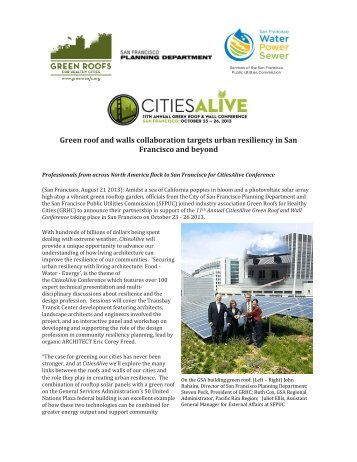 Green roof and walls collaboration targets urban resiliency in San ...