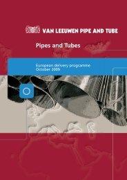 Pipes and Tubes - Van Leeuwen