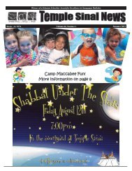 Summer 2011 PDF - Temple Sinai