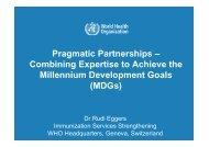 Pragmatic Partnerships