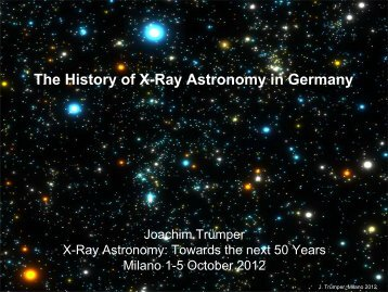 The history of X-ray Astronomy in Germany