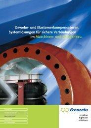 und Elastomerkompensatoren - Frenzelit-Werke GmbH & Co. KG
