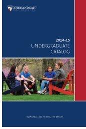 2014-15-Undergraduate-Catalog