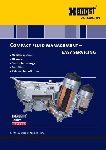 Compact fluid management - Hengst GmbH & Co. KG