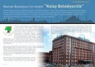 """Mamak Belediyesi'nin hedefi: """"Kolay Belediyecilik"""" - Bilişim Dergisi"""