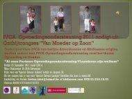 IVCA Opvoedingsondersteuning 2011 nodigt uit ... - Expoo