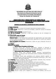 Orientações Formulário Mantenedora - Secretaria de ...
