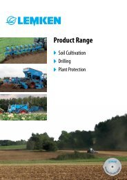 Lemken - Product Range - Kakkis Agrifuture Products LTD