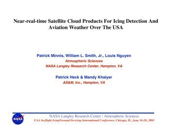 Near-real-time Satellite Cloud Products For Icing Detection And ...
