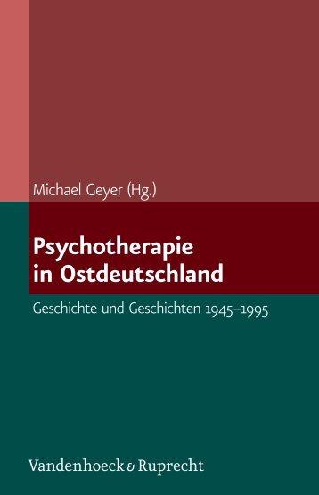 Psychotherapie in Ostdeutschland