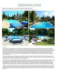 Villa Floranneve, Cavtat, Dubrovnik Riviera - CroatiaGems