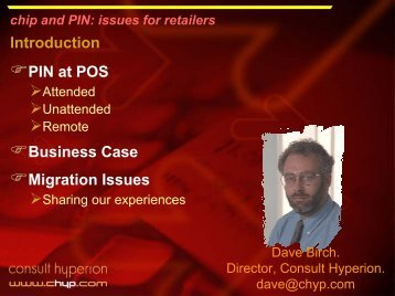 chip and PIN - Consult Hyperion