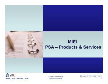presentations - MIEL eSecurity Pvt. Ltd.
