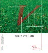 Rapport annuel 2002 - Veolia Finance - Veolia Environnement
