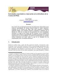 Entramados exportadores e innovación en la citricultura de ... - ASET