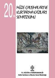 20. Müze Çalışmaları ve Kurtarma Kazıları Sempozyumu