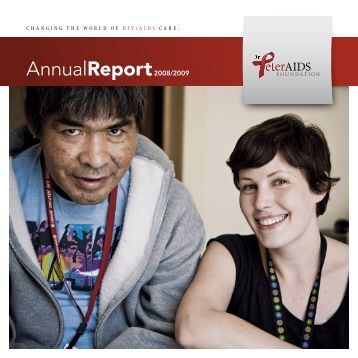 2008/2009 Annual Report - Dr. Peter Centre