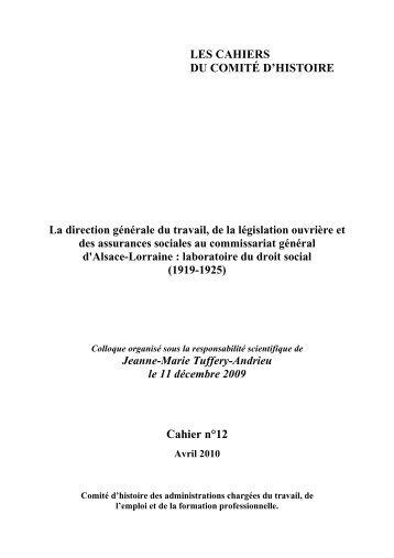 cahiers_comites_hist.. - Histoire du droit
