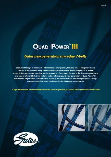 Gates Quad-Power® III - SKS Sweden