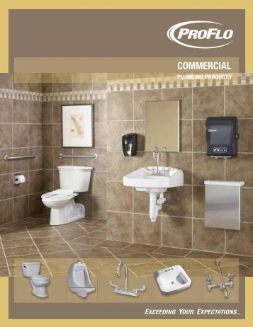 Commercial Plumbing Products - ProFlo