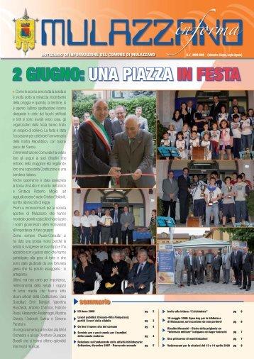 Numero 2 - Trimestre giugno, luglio, agosto - Comune di Mulazzano