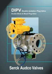 DIPV Double Isolation Plug Valve - Process Valve Solutions Ltd
