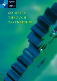 SECURITY THROUGH PARTNERSHIP - Nato