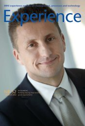 ERNI experience reports on management, processes and technology