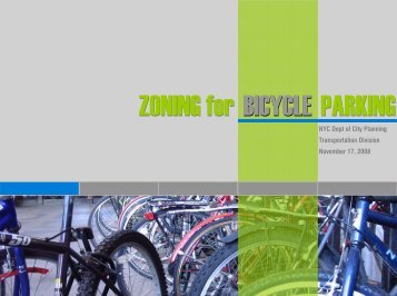 Zoning for Bicycle Parking Presentation - NYC.gov