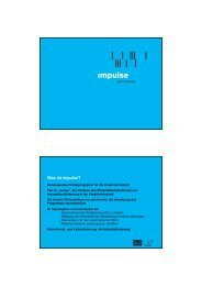 (Microsoft PowerPoint - impulse infohour_pr\344se ... - impulse/aws