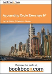 Accounting Cycle Exercises IV