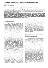 Aimants cosmiques : le magnétisme des étoiles - Laboratoire d ...
