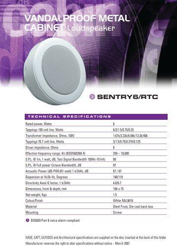 Penton SENTRY 6-RTC:Penton SENTRY 6/RTC