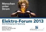 Elektro-Forum 2013 - em electrocontrol ag